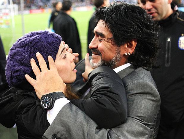 Maradona filha Dalma derrota Argentina