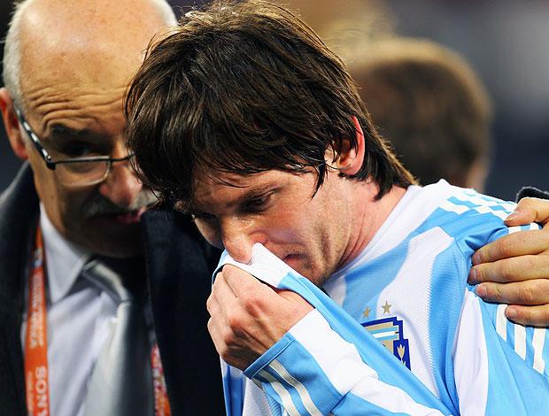 Messi derrota Argentina
