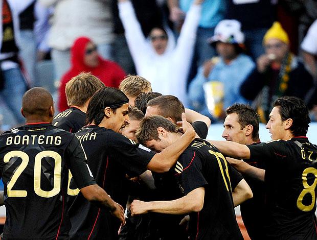 Thomas Müller comemoração  Alemanha contra Argentina