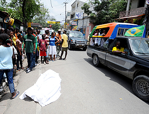 Torcedor se mata no Haiti