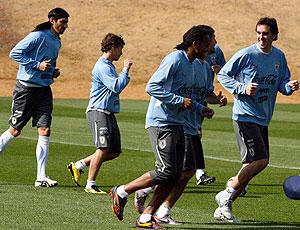 treino Uruguai Copa do Mundo