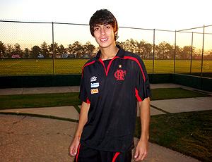 Antônio, volante do Flamengo, em Itu