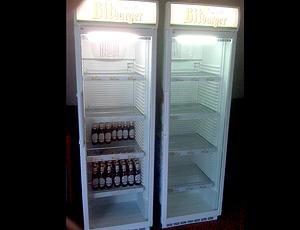Cerveja na sala de imprensa da alemanha
