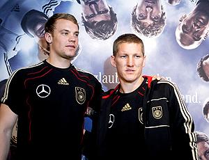 Manuel Neuer Schweinsteiger alemanha coletiva