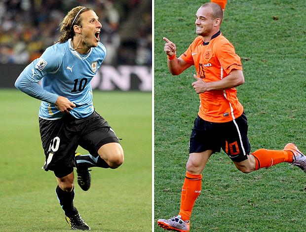 Forlan Paraguai Sneijder Holanda