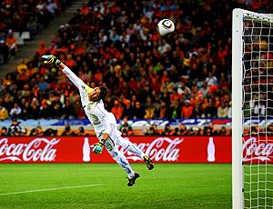 Fernando Muslera, gol, uruguai x holanda
