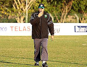 Márcio Goiano, técnico do Figueirense (Foto: Divulgação / Site Oficial Figueirense)