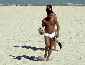 Ronaldinho Gaucho praia