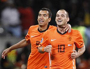 Wesley Sneijder, uruguai x holanda