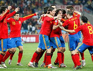 Jogadores gol Espanha