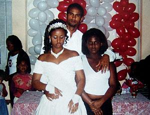 Bruno esposa casamento