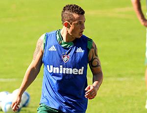 Diogo, treino Fluminense