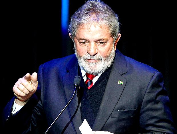 Lula, presidente Brasil lançamento marca copa 2014