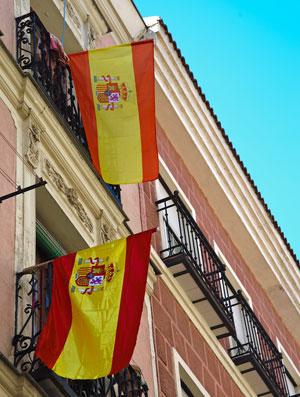 bandeiras nacionalistas espanha
