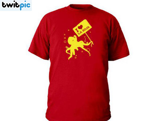 polvo camiseta espanha