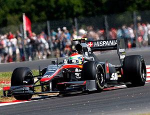 Sakon Yamamoto treino F1 Inglaterra