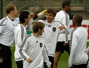 treino Alemanha
