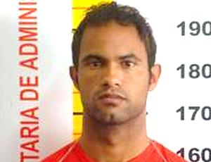 Bruno, ex-Flamengo foto na prisão
