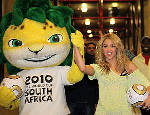 Shakira mascote bola Copa final  (Foto: Getty Images)