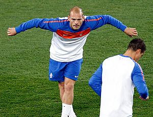 sneijder treino holanda