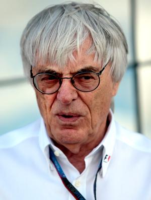 Bernie Ecclestone no GP da Inglaterra