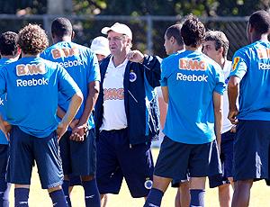 Cuca, técnico Cruzeiro