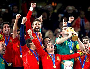 97eab80248 Espanha lidera ranking da Fifa