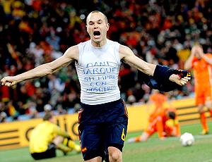 Iniesta gol Espanha