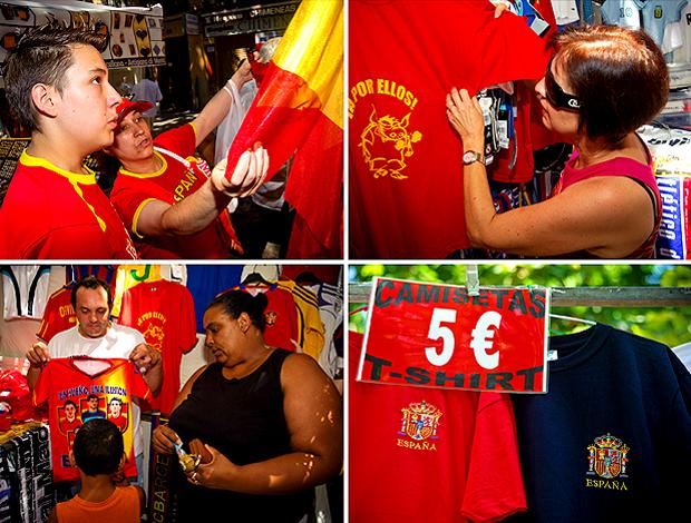 Torcedores Espanhóis compras atrasadas