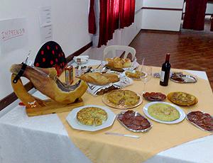 Torcedora Espanha pratos tipicos