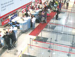 Aeroporto Afonso Pena PR Copa 2014 (Foto: Felipe Lessa / Divulgação)