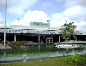 Aeroporto Brigadeiro Eduardo Gomes Manaus Copa 2014 (Foto: André Viana / Divulgação)