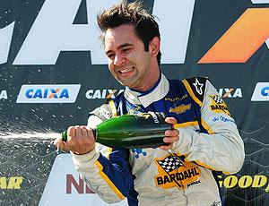 Antonio Pizzonia comemoração Stock Car