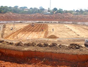 Arena Pantanal, em Cuiabá para de Copa 2014