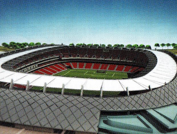 Estádio Arena Pernambuco Copa 2014 (Foto: Divulgação)
