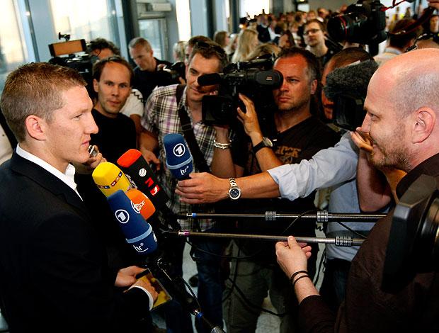Bastian Schweinsteiger desembarque Alemanha