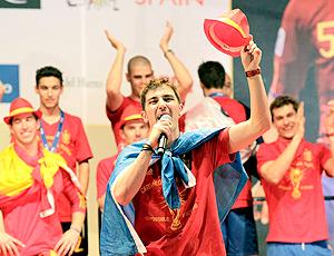 David Villa comemoração Espanha copa 2010