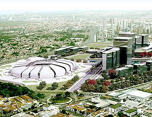 Projeto Estádio Arena das Dunas Natal 2014 (Foto: Divulgação)