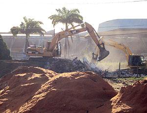 Estádio Machadão obras Natal-RN Copa 2014 (Foto: Diana Barreto / Divulgação)