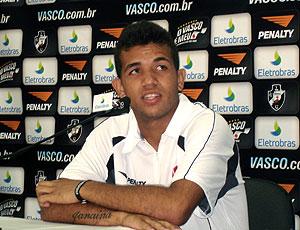 Jonathan entrevista coletiva Vasco
