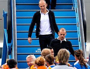 Robben desembarque Holanda Copa