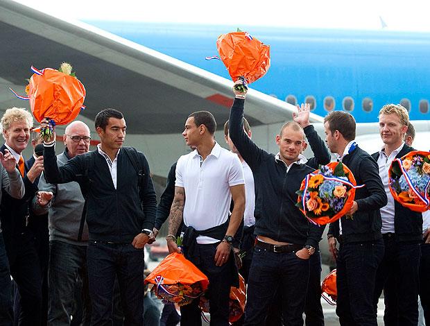 Holanda desembarque flores