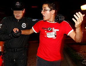 torcedor Espanha preso comemoração