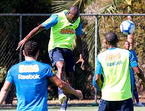 Cláudio Caçapa, treino Cruzeiro