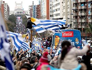 Torcedores Festa Uruguai