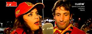 Ex-Miss Argentina pede beijo, e Capdevilla não encarna Casillas  (Reprodução You Tube)