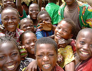 crianças, Última da república centro africana