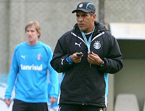 Silas treino Grêmio