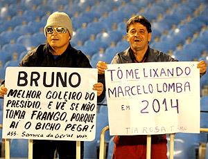 Torcida Flamengo x Botafogo cartaz Bruno