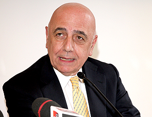 Adriano Galliani vice-presidente do Milan